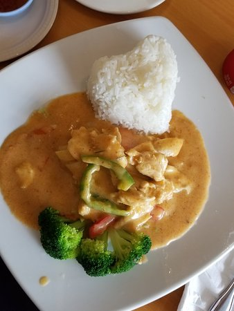 panang curry with chicken - Thai Restaurants In Palm Beach Gardens Fl