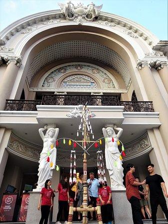 Entrance to the Saigon Opera