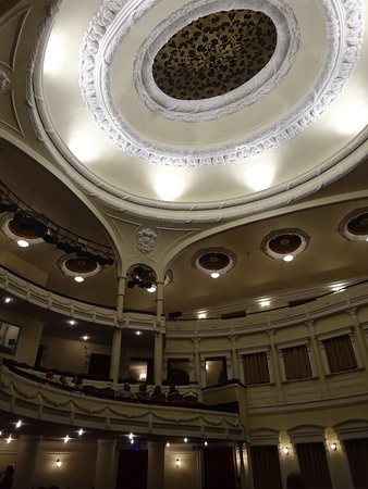 interior shot of the Saigon Opera House