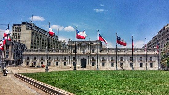Palacio de Gobierno. La Moneda (Centro de Santiago)