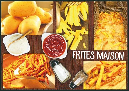"The Jungle "" Burger Bar & Pizzeria "": FRITES MAISON"