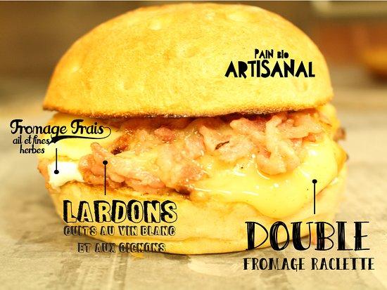 "The Jungle "" Burger Bar & Pizzeria "": BURGER DU MOMENT"