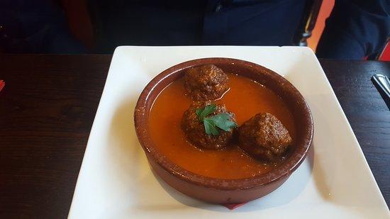 Tulay Turkish BBQ Restaurant & Bar: Meatball starter