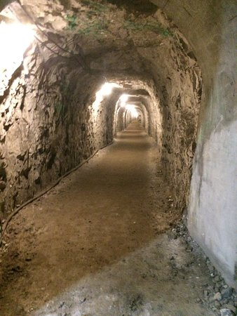 Ramsgate Tunnels: One of the tunnels