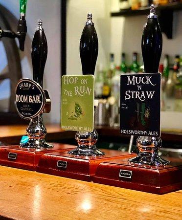 Real Ales at the Arscott Arms