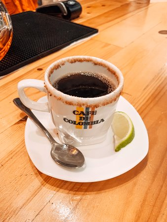 Colombian style coffee