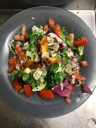 Salade bleu d'Auvergne