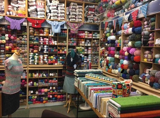 Anne Louise and Thistle Wool Shops