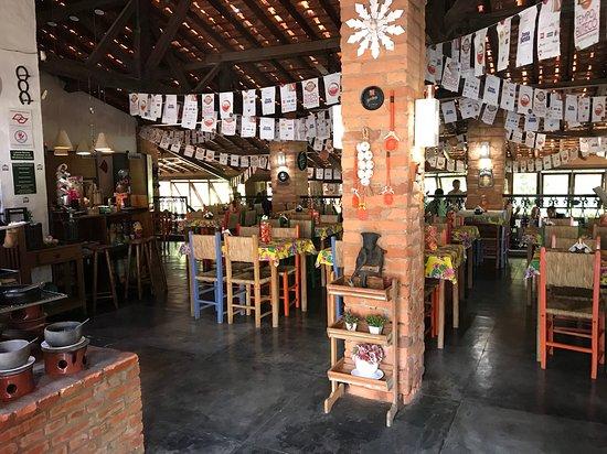 Bar e Restaurante Rancho Vo Joaquim: Sitting hall (by heinerklingle)