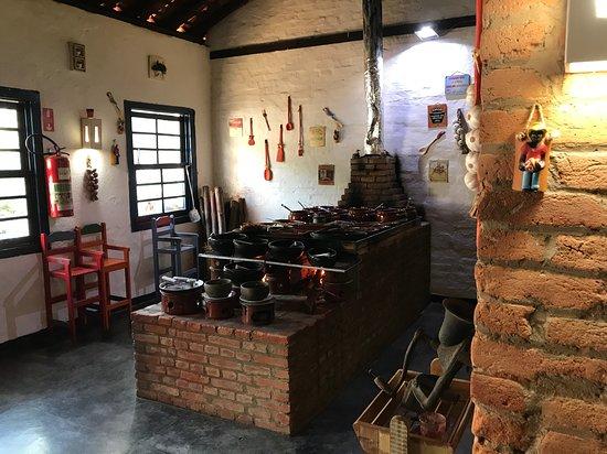 Bar e Restaurante Rancho Vo Joaquim: Hot dishes buffet (by heinerklingle)