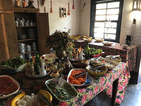 Bar e Restaurante Rancho Vo Joaquim: Salads & desserts (by heinerklingle)