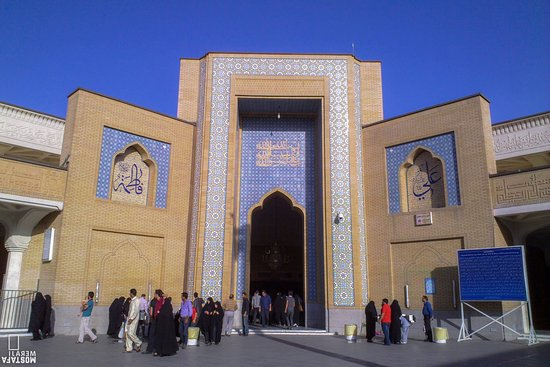 Shrine of Fatima Masoumeh in Qom
