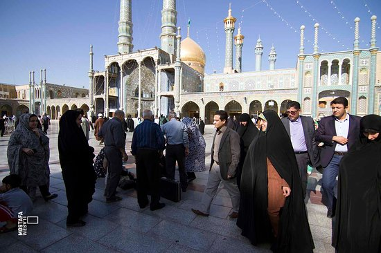 Shrine of Fatima Masoumeh in Qom (Shia people)