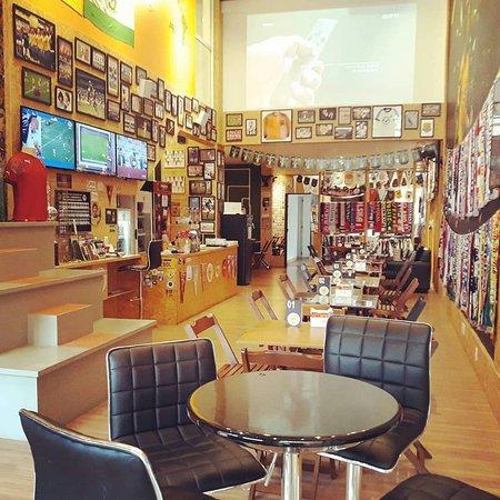 Bar temático de futebol