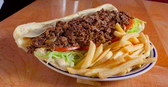 The Stone Cold Favorite, Old School Cheesesteak!