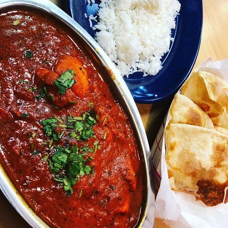 Best Indian Food in Parkville, Hands Down! Just Check out this Spicy Curry.