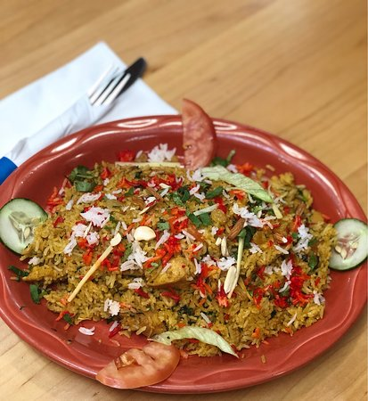 Our Chicken Biryani, Yes is tastes as good as it looks!