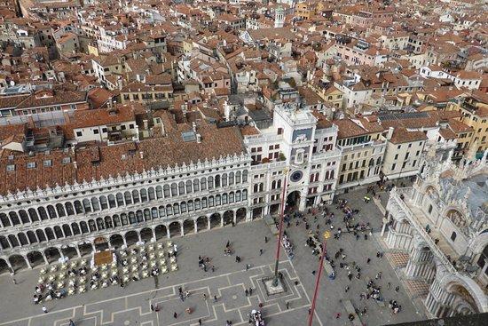 Campanile di San Marco: panorama dal campanile