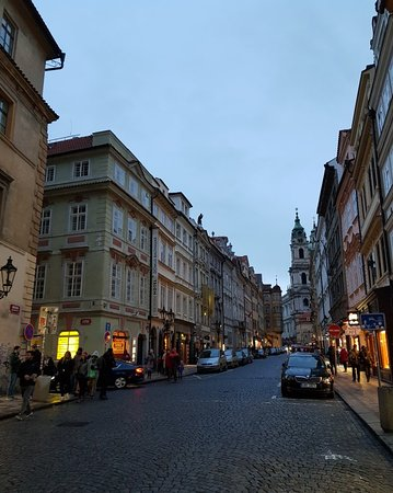 Streets leading into the square