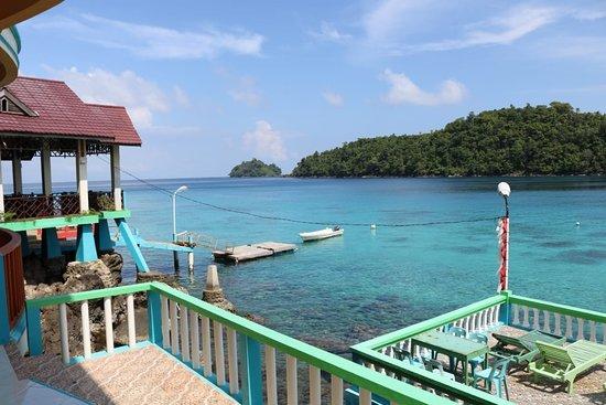 Iboih, Indonesien: Yulia bungalow area.salam hangat yulia bungalow