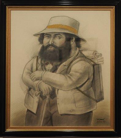 Botero Museum Guided Visit:  Cézanne peint par Botero