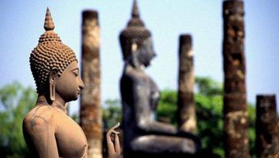 Visitez l'ancienne capitale Ayutthaya et ses temples d'influence siamoises, birmanes et khmers. Vous découvrirez les lieux incontournables de cette légendaire cité comme le Wat Phra Sri Sanphet, construit en 1350, ainsi que le Palais Royal Phaichayon Maha Prasat . Vous pourrez vous balader de temples en temples en toute liberté.