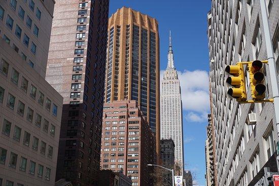Manhattan Skyline: Skyline shot