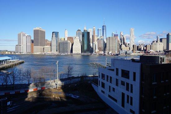 Skyline shot from Brooklyn