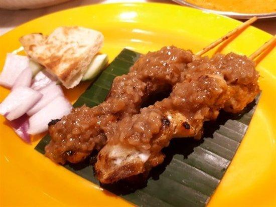 Sedap Malaysian Delights (The L. Place): 馬來沙嗲雞串燒