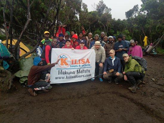 Kilisa Tours & Safaris: Nice team/crew