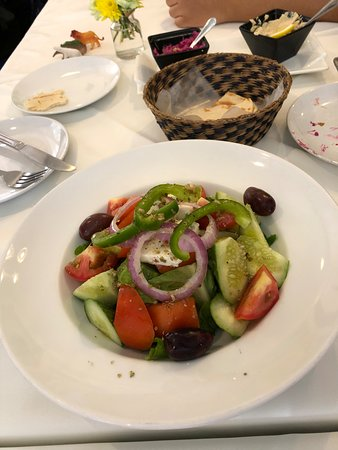 Olive Bangkok: The Greek salad
