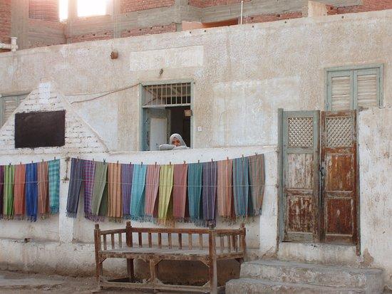 al-Qusair, Ägypten: In giro per la cittadina.
