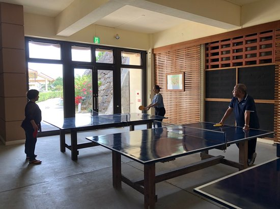 Club Med Kabira - Ishigaki: 24小時的桌球桌,一共有4桌,完全不用擔心人太多~