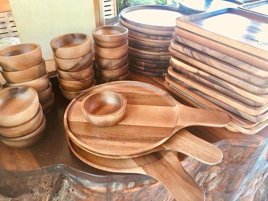 Wooden kitchen ware