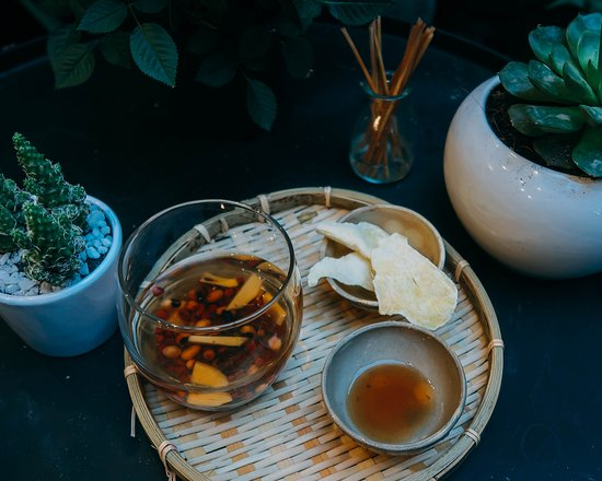 Truc Hoa Tra Quan: Flower tea and many thing good for your health