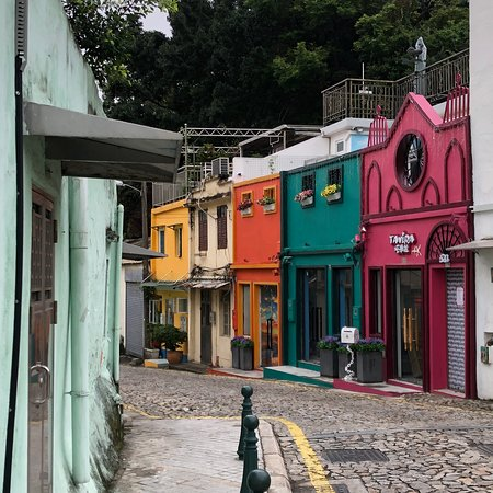 The quiet side of Taipa Village