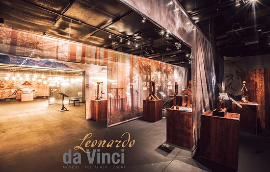 Leonardo da Vinci Muvesz-Zseni-Feltalalo Kiallítas