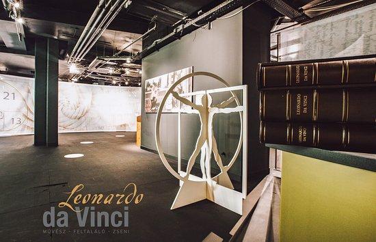 Leonardo da Vinci Muvesz-Zseni-Feltalalo Kiallitas: Leonardo da Vinci exhibition in Budapest