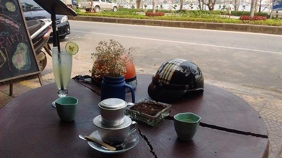 19 mars 2019 / café vietnamien et jus de citron