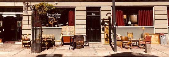 เอสบีเยร์, เดนมาร์ก: Flot facade der fortæller meget om den hyggelige stemning indenfor