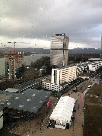 Bonn Marriott Hotel : View from corner suite