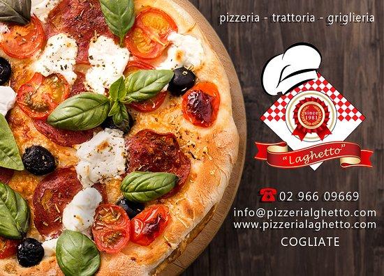 Pizzeria Laghetto Cogliate Menu Prices Restaurant
