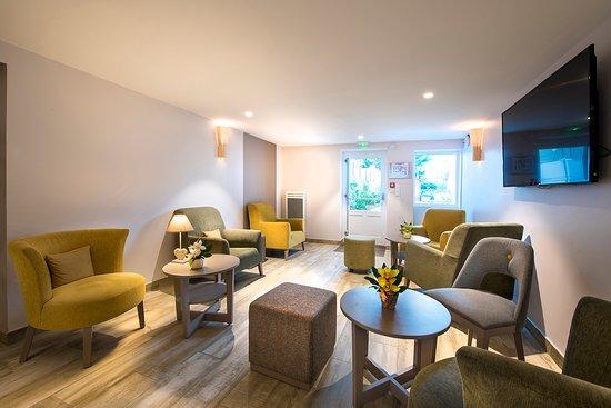 Bar - Picture of Hôtel trois étoiles Villa Bettina, La-Baule-Escoublac - Tripadvisor