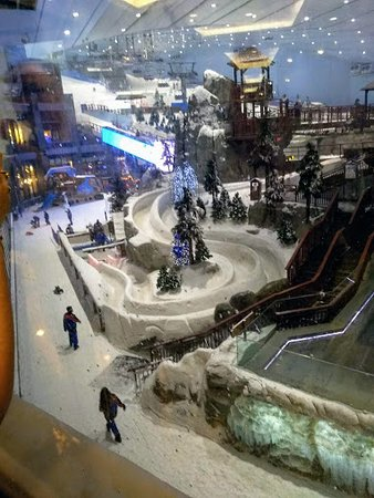 Uno scorcio dello Ski Dubai....