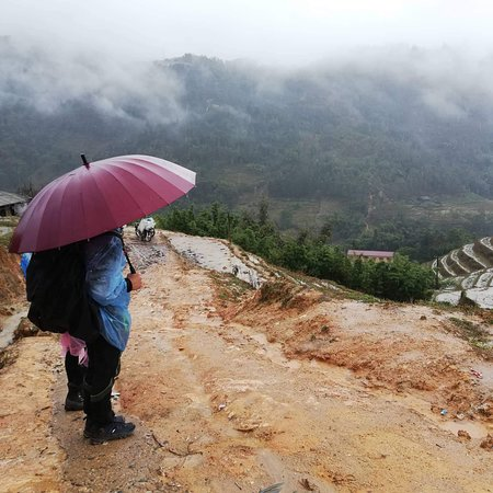 Sapa during winter.  Misty and enchanting.  The hikes are still wonderful.  The view, amazing!