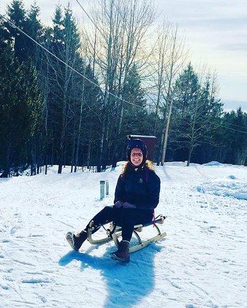 Hired sledge!