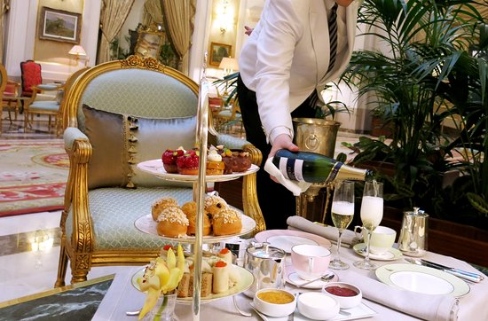 El Palace Hotel: Afternoon Tea L'eclair