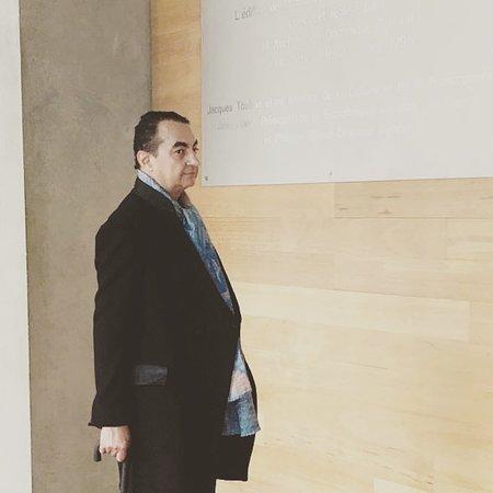 Mohamed Dekkak at Bibliotheque National de France