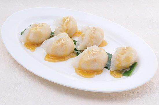 Peking Tokyo: Coconut dumplings