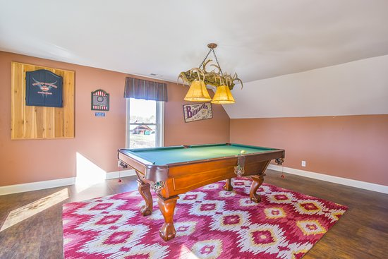 Pool table activities center